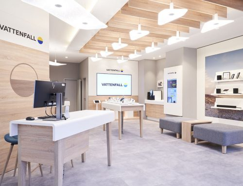 Vattenfall shop – Berlin, Germany